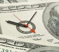 time and money graphic