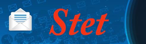 Stet logo